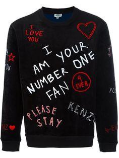 316f6aa4b8d KENZO  I Love U   Sweatshirt.  kenzo  cloth  sweatshirt