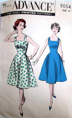 1950s Advance 9054 Bust 36. $24.99, via Etsy.