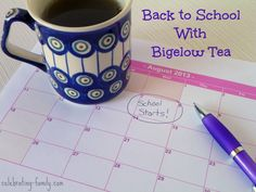 Back to School with Bigelow Tea #AmericasTea #shop #cbias