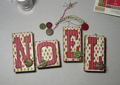 My first pinned-by-someone-else project!  First pinned by Scrapbook and Cards Today.  :)