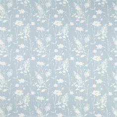 Dragonfly Garden Chalk Blue Wallpaper at Laura Ashley