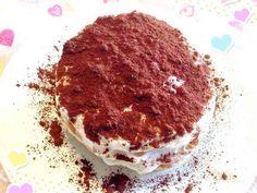 簡単&低カロリーティラミスパンケーキ♡の画像