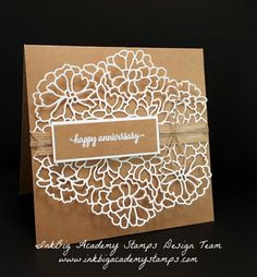 Stampin'Up! So in Love bundle, So in Love stamp set, So Detailed Thinlits, techniques, tutorials, #lisapretto #inkbigacademystamps