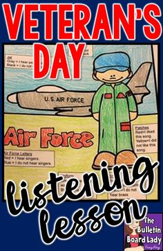 Celebrate Veteran's Day in your music classroom with these ideas.  Listen, discuss, analyze.  Download and GO ideas you can use today with no prep. Music Education Activities, Teaching Activities, Teaching Music, Listening Activities, Teaching Ideas, Bilingual Education, Holiday Activities, Teaching Resources, Holiday Classrooms