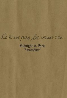 """Adriana: """"That Paris exists and anyone could choose to live anywhere else in the world will always be a mystery to me."""""""