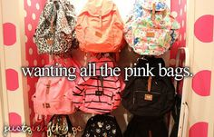 Or maybe just one I can't just buy an actual cute back bag cuz I always break it ARRGGGHH
