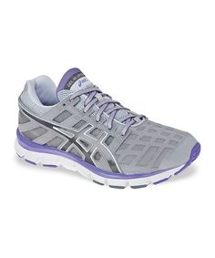 Take a look at this Silver & Neon Purple Gel-Blur33 Training & Walking Shoe - Women by ASICS on #zulily today!