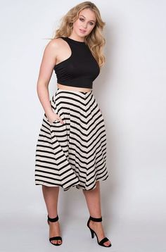 Image result for interview plus size trendy outfits