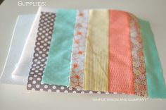 Quilted Potholders from Scraps {Quilt Binding Tutorial} - Simple Simon and Company
