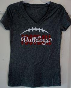 Custom Football T-shirt Long sleeves Sweatshirt Hoodie