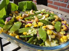 Salade met broccoli en peultjes | Arja's kookboek