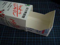 Blog do passo a passo: gaveteiro com caixa de leite / tetra pack