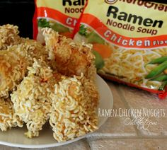 Ramen Chicken Nuggets?...this is a game changer