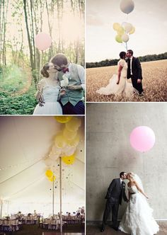 Balloons as Marquee Decor How gorgeous do those balloons look up on the ceiling? This is a great idea (cheap too) if you have high ceilings and want to add a little extra colour to a space, or for creating a dramatic entrance in a hallway. Add some ornaments to the strings hanging down, uh dreamy!
