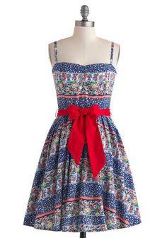 Lend Me a Handkerchief Dress
