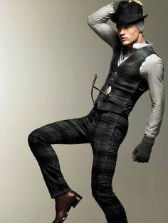Pattern Mens Fashion Photography