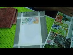 Land/ground colouring with waterpaints. Explanation by Amrita Tiwary. - YouTube