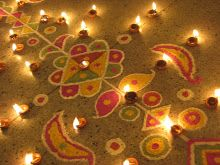 Sanghamitra Bhattacharjee : Diwali decor ideas