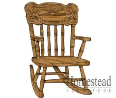 Sunrise Child's Rocker. http://www.homesteadfurnitureonline.com/youth-furniture_sunrise-rocker-684.html