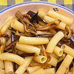 Receta de Macarrones con berenjenas y anchoas