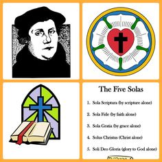 Did you know that on October Martin Luther nailed his 95 theses (or concerns) regarding the practices in the Catholic Church to the door of the Castle Church in Wittenberg, Germany? 2017 will be 500 Years. Sunday School Lessons, Sunday School Crafts, Reformation Sunday, Martin Luther Reformation, Luther Rose, 5 Solas, Sola Scriptura, Protestant Reformation, Rose Crafts