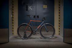 Colossi 'Rambler Pursuit' powder blue and orange 54cm 0