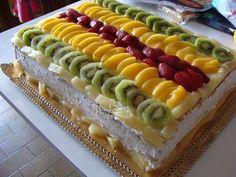 Receita de Bolo de Frutas