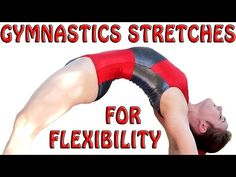 Flexibility Stretches Gymnastics At Home Exercises How To Tutorial & Fol. Cheerleading Flexibility Stretches, Gymnastics Stretches, Stretches For Flexibility, Flexibility Training, Gymnastics Workout, Stretching, Gymnastics For Beginners, Gymnastics At Home, Easy Workouts