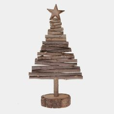 ... more inspiration for a wooden Christmas tree , see following images