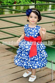 Vestido Infantil Balonê da Galinha Pintadinha