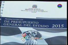 Comisión Propone Aumentar Presupuesto De Salud, Justicia Y De La UASD #Video