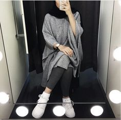 Casual brownish outfits with hijab – Just Trendy Girls Hijab Casual, Hijab Chic, Islamic Fashion, Muslim Fashion, Modest Fashion, Fashion Outfits, Classy Fashion, Fashion Fashion, Modest Wear