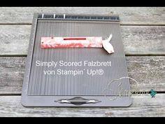 Simply Scored Falzbrett in Bild und Ton für Dich erklärt