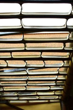 Lucetas en guadua. Zuarq arquitectos. Casa de bambu en Colombia