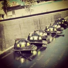 the memorials, all of them, are amazing! We Will Never Forget, Lest We Forget, Wtc 9 11, World Trade Center Nyc, 11 September 2001, Day Of Infamy, Fire Dept, Fire Department, Pearl Harbor