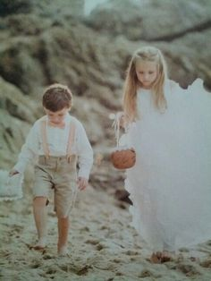 Ring bearer outfit.