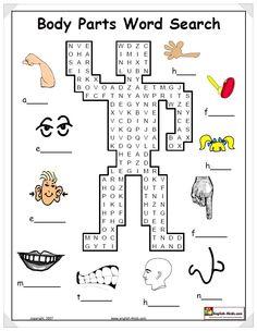 위의 학습지는 Word Search Game이다. 옆에 단어의 그림과 첫글자가 나와 있어 쉽게 찾을 수 있다.