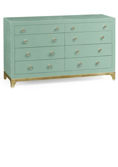 Luxury Designer Furniture, Contemporary Aqua Lacquer & Gold Chest of Drawers, so beautiful, inspire your friends and followers interested in luxury interior design, with new trending accents from Hollywood courtesy of InStyle Decor Beverly Hills, Luxury Designer Furniture, Lighting, Mirrors, Home Decor & Gifts, over 3,500 inspirations to choose from and share with our simple one click Pinterest Pin button enjoy & happy pinning