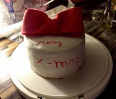 x-mas cake in 2 hours