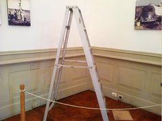 Escalera usada por María Reiche durante sus investigaciones