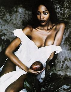 ☆ Naomi Campbell | Photography by Peter Lindbergh | For Harper's Bazaar Magazine US | 1992 ☆
