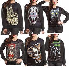 2015 Autumn Winter Women Men 3D Hoodies Pullovers Sweatshirts Sudaderas Harajuku Galaxy Top Robot Cat Twins Zombie Addams Family