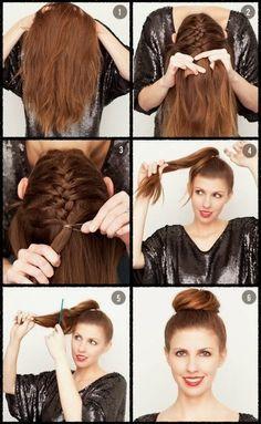 diy beautiful braid