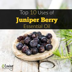Here is our top 10 list of uses for juniper oil. http://www.lovingessentialoils.com/blogs/essential-oil-tips/top-10-juniper-berry-benefits-and-uses Juniper Berry Essential Oil is commonly used for skin health, natural detoxification, sleep aid, boosts immune system, aids digestion, and soothes muscles.