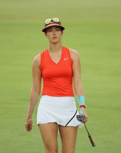 Michelle Wie Photos Photos - Michelle Wie of the United States in action during the final round of the HSBC Women's Champions on the Tanjong Course at Sentosa Golf Club on March 5, 2017 in Singapore. - HSBC Women's Champions - Day Four
