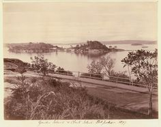 Garden Island and Clark Island in Sydney Harbour in Garden Island was hectares.Clark Island is hectares in area. Historical Images, Historical Society, Sydney City, History Photos, Old Photos, Past, Country Roads, Island, World