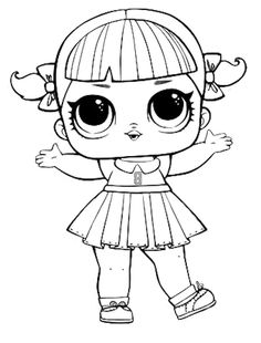 lol doll luxe coloring page   scarlette   lol dolls, coloring pages a unicorn coloring pages