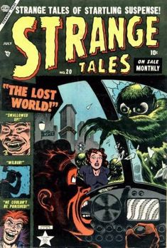 gcd cover strange tales 20 - 28 images - listings heronext, gcd issue mystery tales 1000 images about horror comics on vintage, gcd cover strange tales gcd issue strange worlds 8 Sci Fi Comics, Horror Comics, Scary Comics, Comic Book Covers, Comic Books Art, Book Art, Marvel Masterworks, Tales Of Suspense, Tales From The Crypt