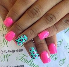 Want some ideas for wedding nail polish designs? This article is a collection of our favorite nail polish designs for your special day. Neon Nails, Love Nails, My Nails, Nail Polish Designs, Cool Nail Designs, Nails Design, Cheetah Nail Designs, Gel Polish, Wedding Nail Polish