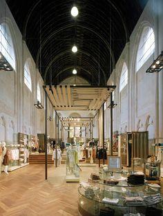 La Flagship Store de McGregor en Bélgica, ¿un Templo del Retail?